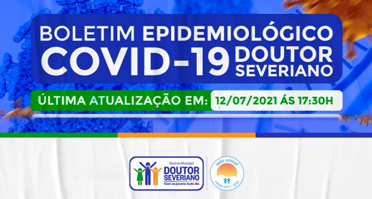 BOLETIM EPIDEMIOLÓGICO - 12/07/2021