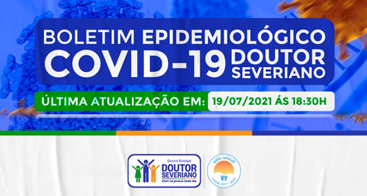 BOLETIM EPIDEMIOLÓGICO - 19/07/2021