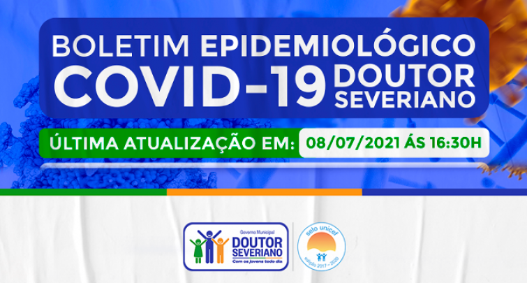 BOLETIM EPIDEMIOLÓGICO - 08/07/2021